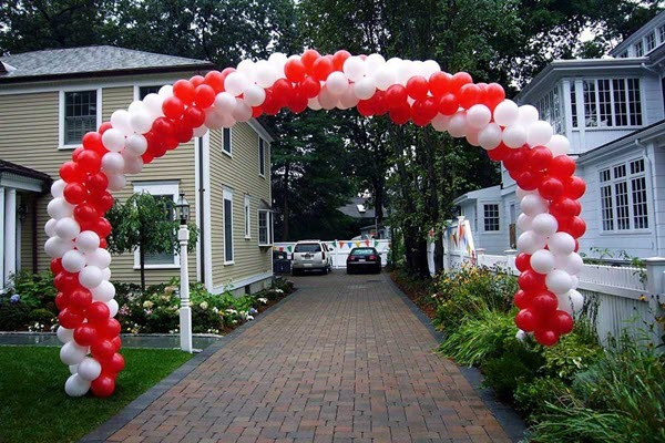 How To Make Balloon Arch At Home For Birthday Party Decoration?