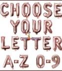 Numbers & Alphabets Foil DIY