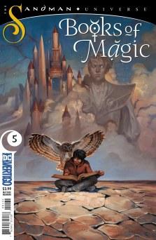 Sandman Universe Books of Magic #5 (DC Vertigo) Comiccover