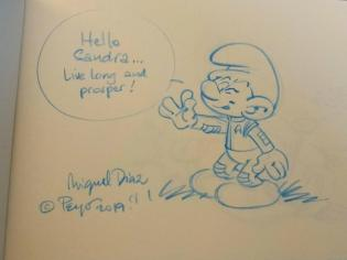 Sketch Miguel Diaz Vizoso Star Trek Schlumpf