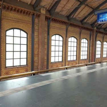 Berliner S-Bahnstation