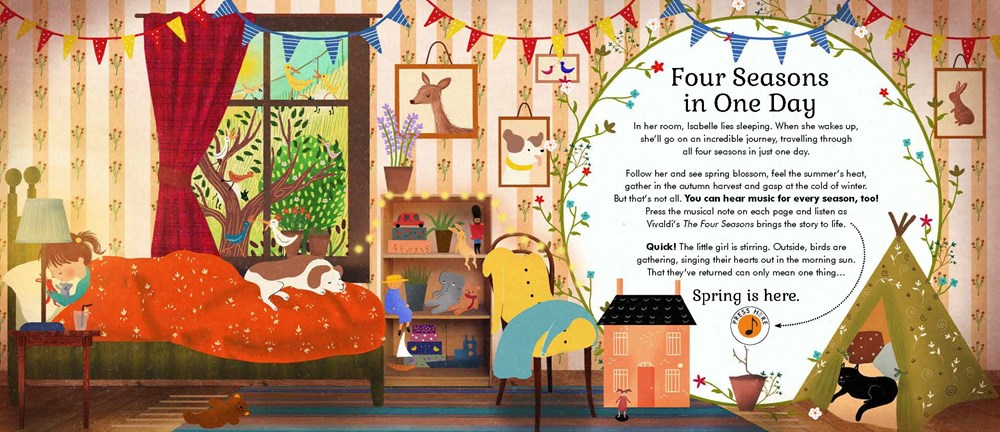 The Story Orchestra Four Seasons in One Day · Book Nerd Mommy
