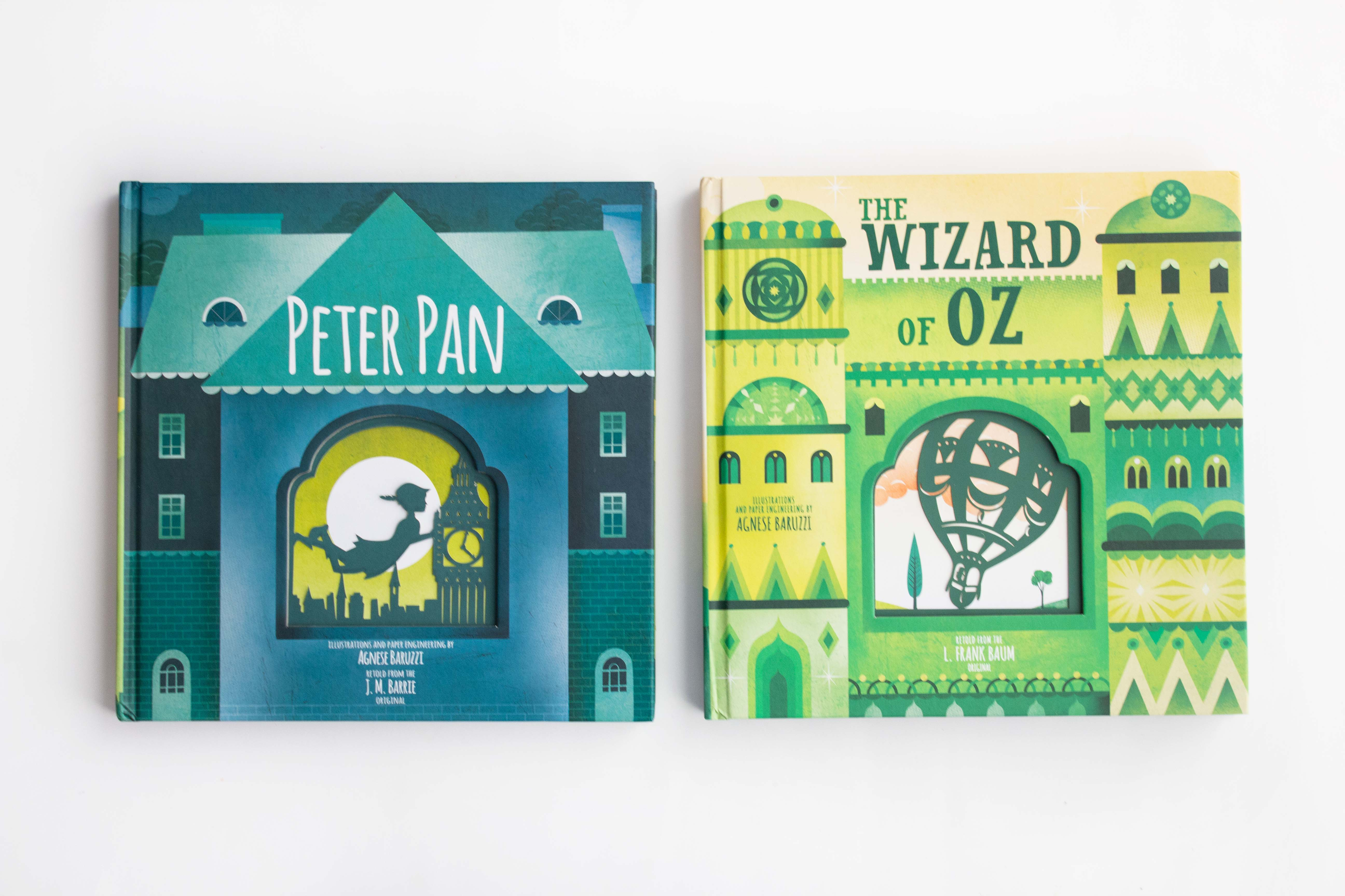 Peter Pan And The Wizard Of Oz Book Nerd Mommy