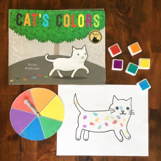 """Cat's Colors"" and Companion Activity to Learn Colors"