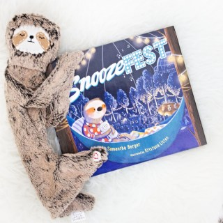 """""""Snoozefest"""" paired with Slumberkin Sloth"""