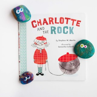 """Charlotte and the Rock"" with DIY Pet Rocks"