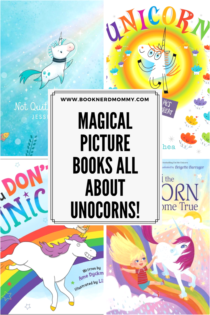 Unicorn picture books! These ones are wonderful and magical and full of unicorn goodness!