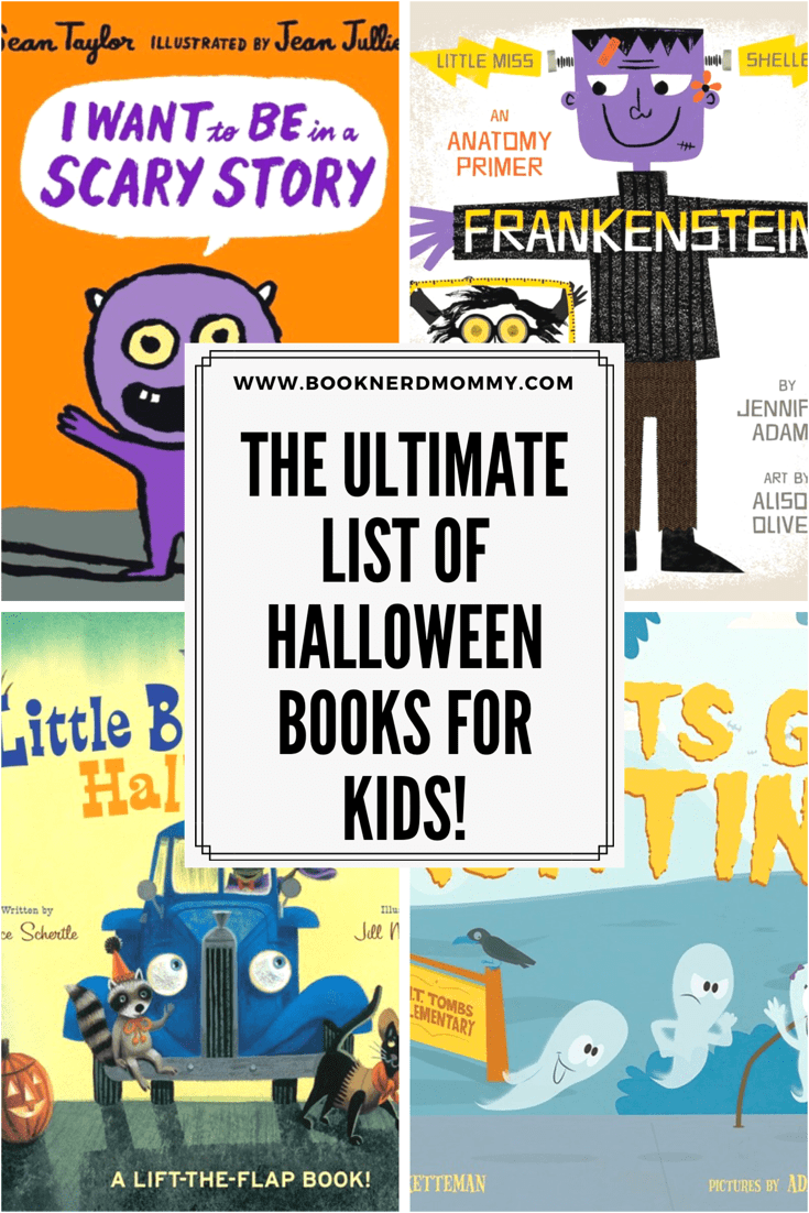 The ultimate list of Halloween picture books for kids! With everything from ghosts, to Frankenstein to trick-or-treating. And nothing is too spooky.