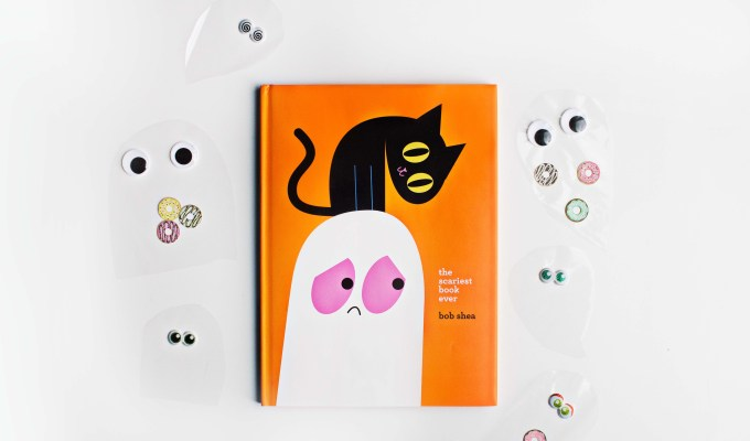 """Adorable Ghost Craft Inspired by """"The Scariest Book Ever"""""""