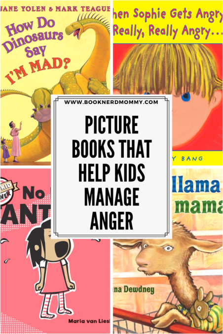 This list of picture books for anger management is wonderful! It helps teach children strategies to calm down and how to express themselves when they are mad.
