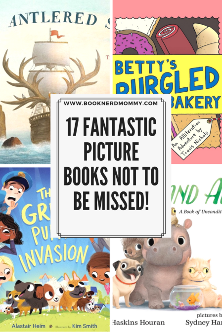This list has 17 picture books with everything form adventuring animals to laugh-out-loud situations.  Such a good one!