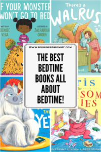 A list of fantastic bedtimes story picture books all about bedtime! Perfect for helping little sleepyheads fall asleep.
