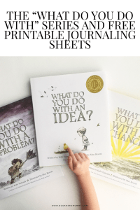 "Awesome, free, journaling printables inspired by the ""What Do You Do With an Idea?"" series. You can print them out to make a reflection journal!"