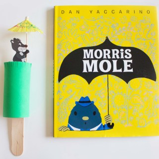 "DIY Peek-A-Boo Mole with ""Morris Mole"""