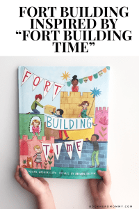 """""""Fort Building Time"""" is the perfect book to inspire a little fort building and creative play. Check it all out here!"""