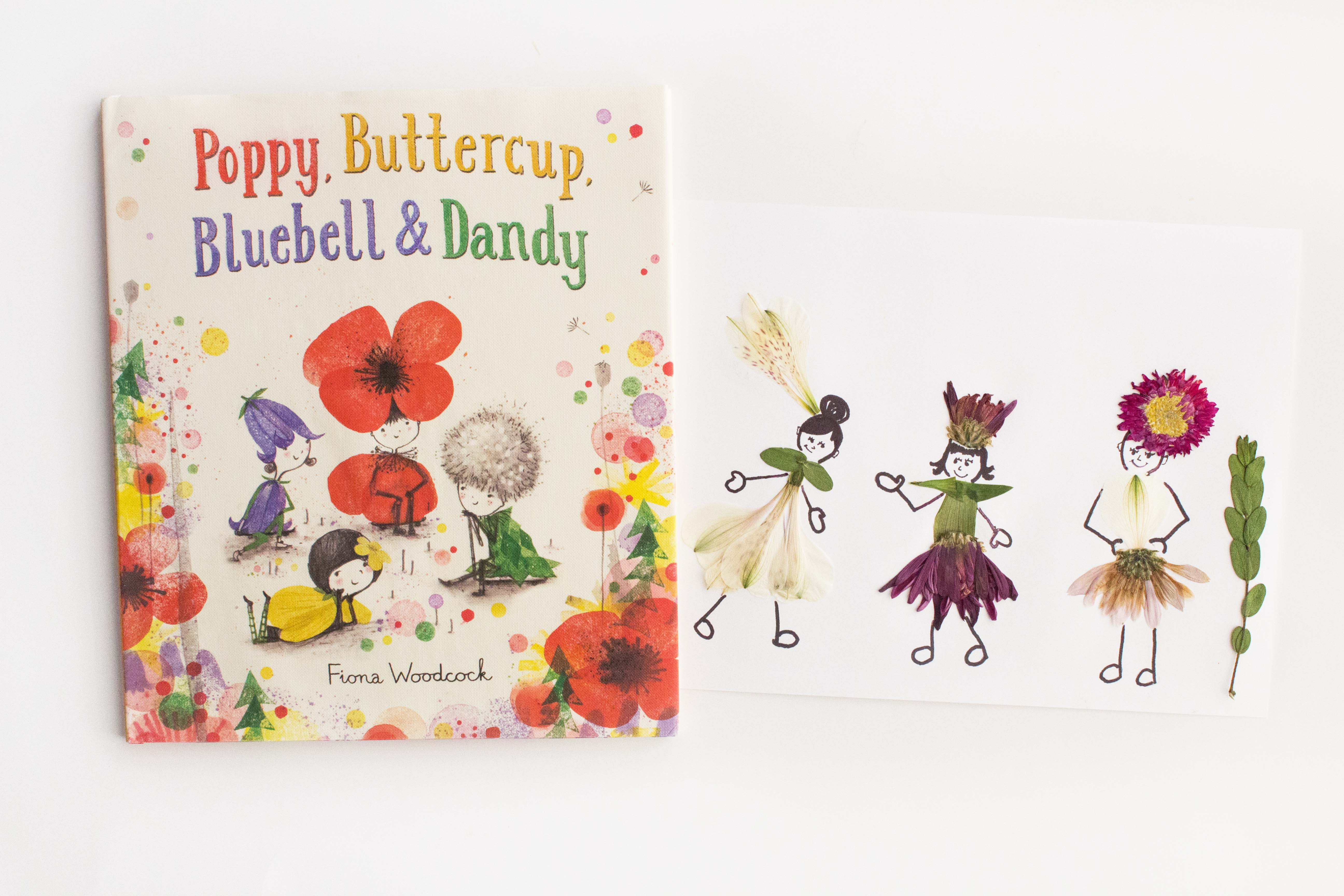 Flower Girl Craft Inspired By Poppy Bluebell Buttercup And Dandy