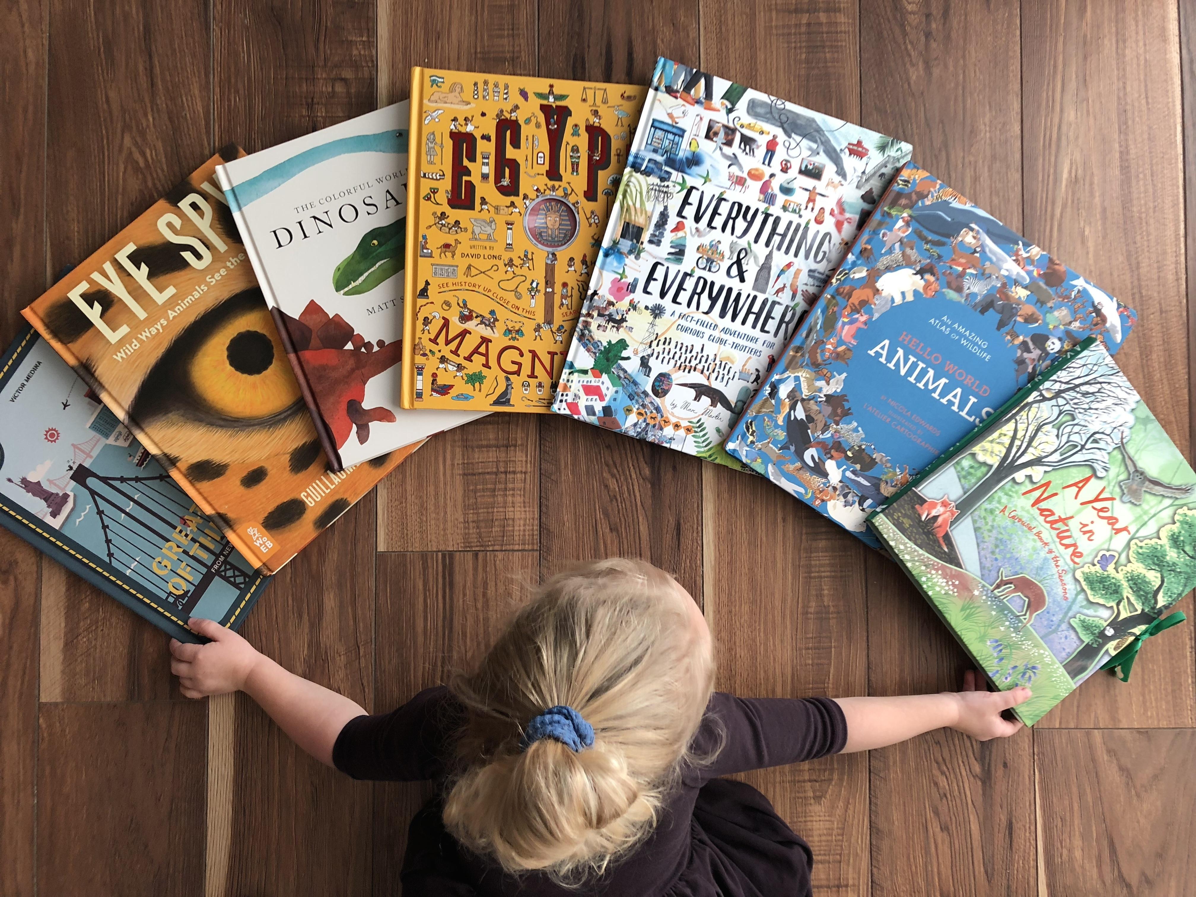 12 Fantastic Large Format Nonfiction Books for Kids · Book Nerd