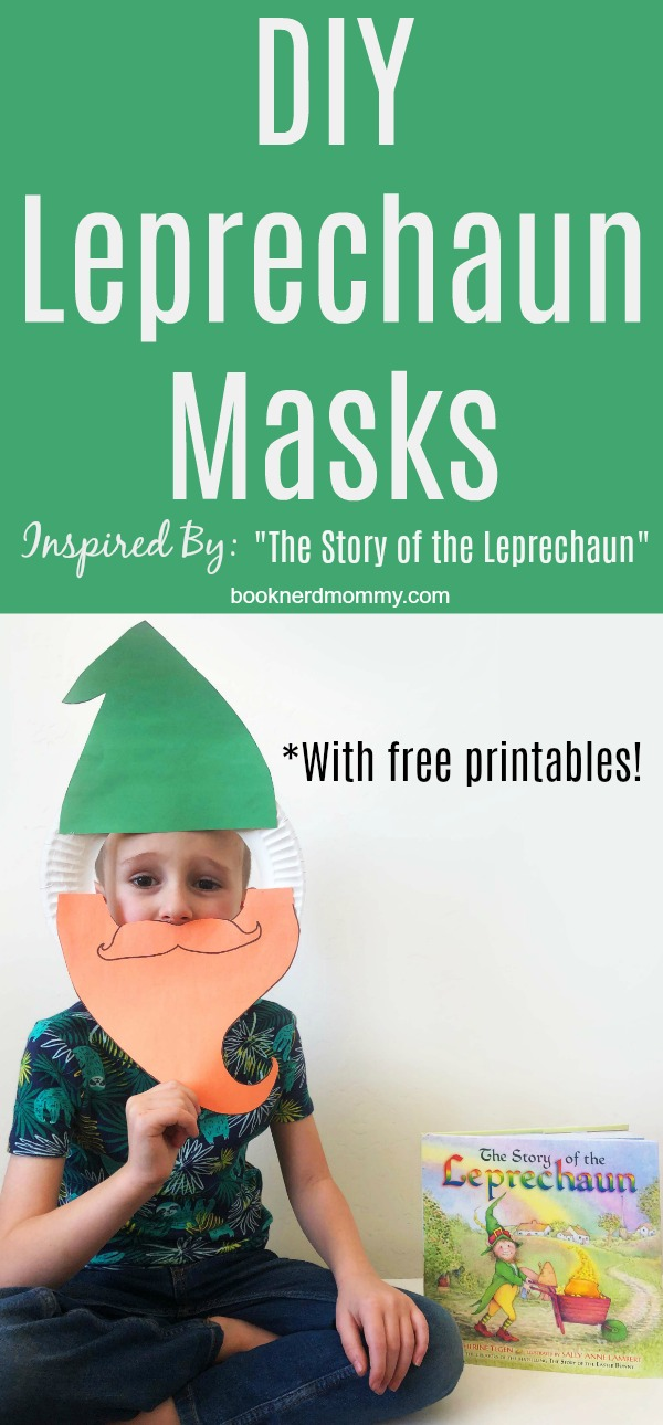 picture about Printable Leprechaun Story called Do-it-yourself Leprechaun Masks Motivated via \