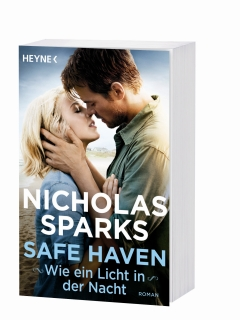 Nicholas Sparks - Safe Haven/Wie ein Licht in der Nacht Buch Packshot © Heyne