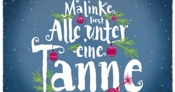 Lo Malinke - Alle unter einer Tanne (Hörbuchcover © ROOFmusic/tacheles!)