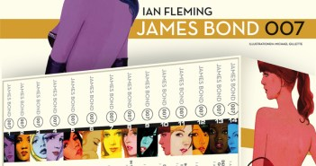 Ian Fleming - James Bond Cover © Cross Cult