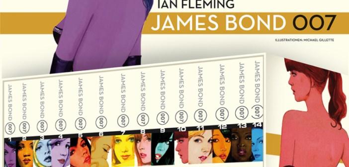 Ian Fleming - James Bond Cover © Cross Cult