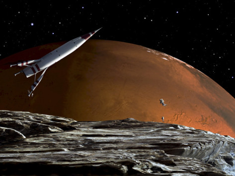 Rings of Mars  The Future of the Red Planet