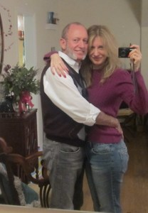 John and Denise on his birthday2