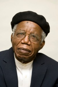 Feb 26, 2008 - New York, New York, USA - The writer CHINUA ACHEBE (Nigeria/USA), photographed February 26, 2008, New York (Credit Image: © Beowulf Sheehan/ZUMA Press) (Newscom TagID: zumaamericaseight735192.jpg) [Photo via Newscom]