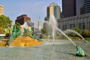 Swann Memorial Fountain (Photo by B. Krist for Visit Philadelphia)