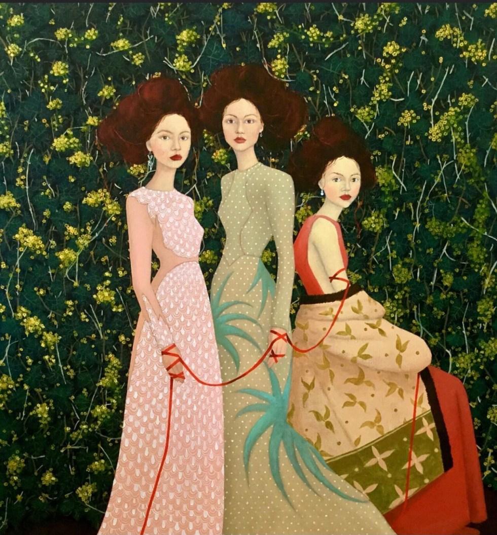 Three Graces by Mary Noga