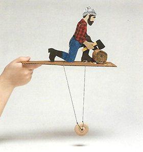 Paul Bunyan Action Figure