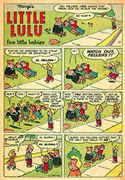 Little Lulu Five Babies