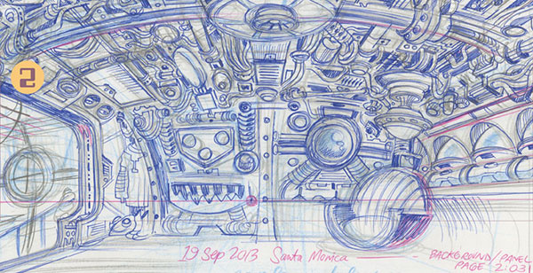 Craig Thompson Space Dumplins ballpoint