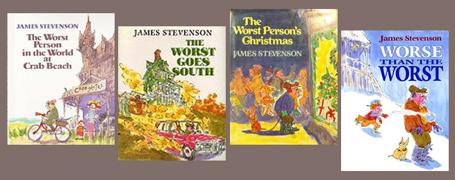 James Stevenson Worst Books