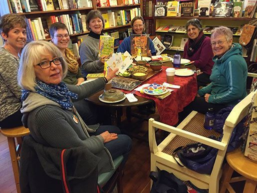 Chapter & Verse Book Club, Redbery Books, Cable, Wisconsin