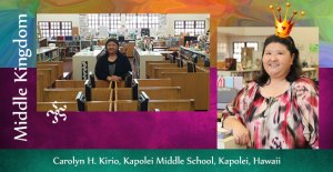 Carolyn Kirio, Kapolei Middle School