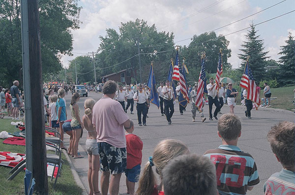 Parade in Spicer