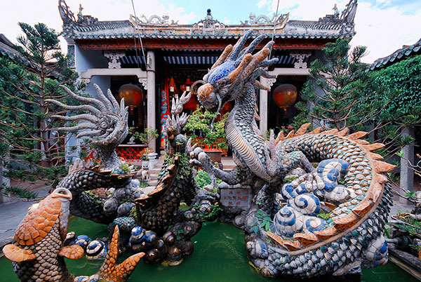 Dragon Fountain, Hoi An, Vietnam