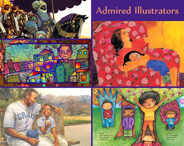 Melina Mangal's most admired illustrators