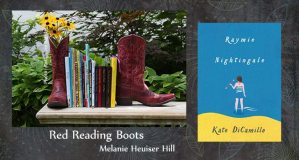 Red Reading Boots Raymie Nightingale