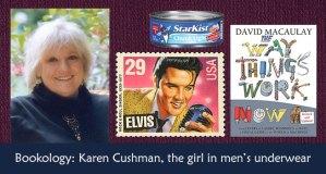 Karen Cushman interview