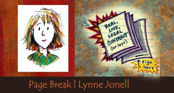 Lynne Jonell's Page Break