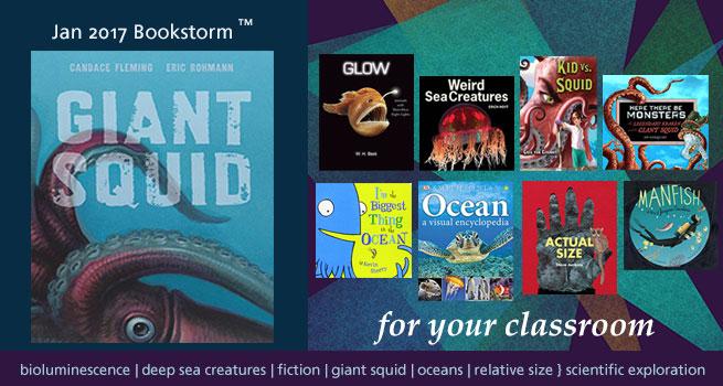 Giant Squid Bookstorm