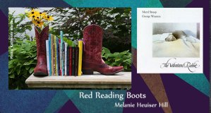 Red Reading Boots Velveteen Rabbit