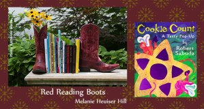 Melanie Heuiser Hill Red Reading Boots
