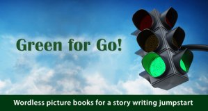 Writing Road Trip 2017-08-03. Green for Go. Adobe Stock.
