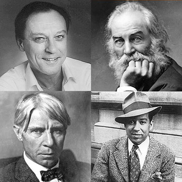 Lee Bennett Hopkins, Walt Whitman, Carl Sandburg, Langston Hughes