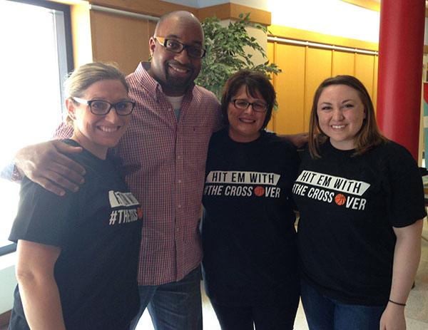 Kwame Alexander and the Dream Team