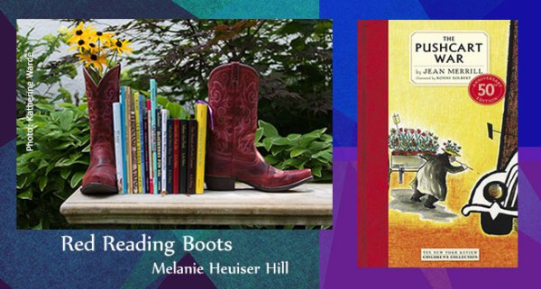 Red Reading Boots The Pushcart War